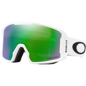 Oakley Line Miner XM Snow Goggles Dame matte white/prizm jade iridium